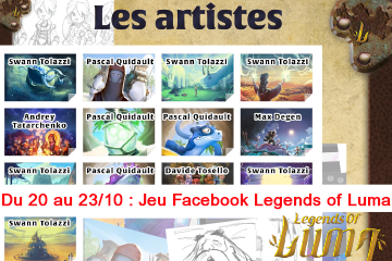 Du 20 au 23/10 : Jeu Facebook - Legends Of Luma